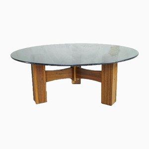 Italian Rosewood Coffee Table, 1960s