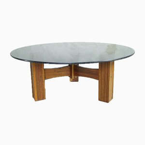 Table Basse en Palissandre, Italie, 1960s