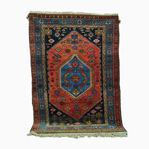 Hand-Woven Middle Eastern Rug, 1920s