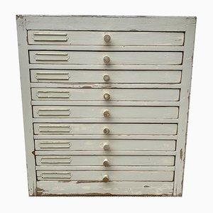 Vintage Dentist Cabinet Drawers