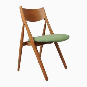 Danish Oak Dining Chairs, 1960s, Set of 6