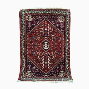 Hand-Woven Middle Eastern Rug, 1980s