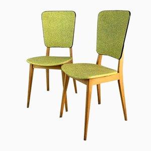 Französische Cafe Stühle, 1960er Jahre, 2er Set