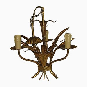 Mid-Century German Floral Chandelier by Hans Kögl, Germany, 1960s