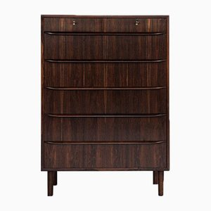 Mid-Century Danish Chest of 5+2 Drawers in Rosewood, 1960s