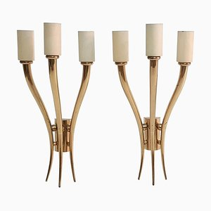 Mid-Century Modern Italian Wall Sconces, Set of 2
