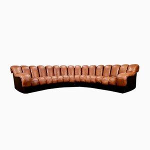 DS-600 Sofa in Cognac Leather from de Sede, 1970s