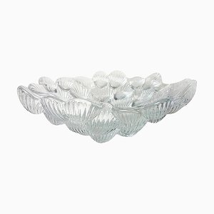 Royal Copenhagen Crystal Musling Shell Glass Bowl by Per Lutkin, Denmark