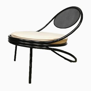 Mid-Century Copacabana Lounge Chair by Mathieu Mategot, Paris, 1950s
