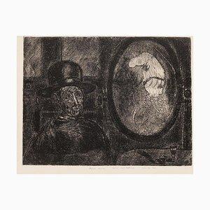 Gian Paolo Berto - Toto - Grabado original sobre papel - 1974