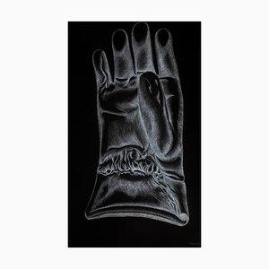Giacomo Porzano - Glove - Original Etching on Paper - 1972