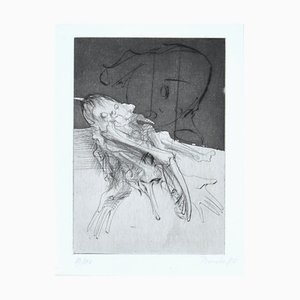 Dado (Miodrag Djuric) - Figura - Grabado original - 1980