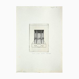 Danilo Bergamo, Roses, Radierung auf Karton, 1970er