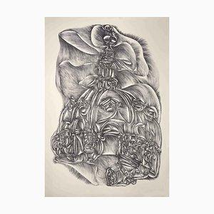 Fritz Baumgartner, Dom, Lithographie, 1970er