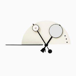 Consolle a muro con specchio e lampada integrati di Giotto Stoppino per Acerbis, 1970
