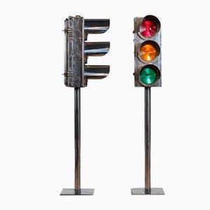 20th Century British Traffic Light