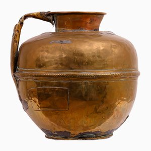 Antique Copper Milk Jug
