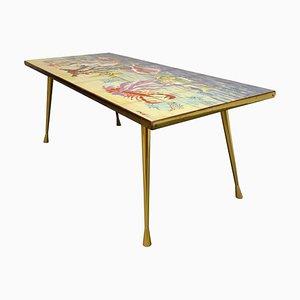 Table Basse Mid-Century en Céramique par Sigis, 1960s