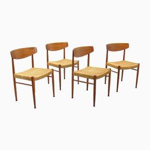 Chaises Modèle 501 de A.M. Mobler, 1970s, Set de 4