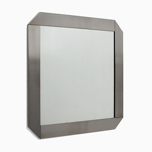 Stainless Steel Mirror by Valenti, 1970s