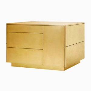 Kitchen Counter in 24k Gold by Livius Haerer for Studiolivius