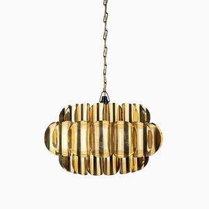 Lámpara colgante Mid-Century de Thorsten Orrling para Temde