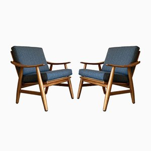 Nordic Armchairs, 1960s, Set of 2