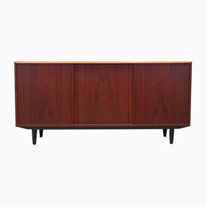 Danish Teak Sideboard by E. W. Bach, 1970s