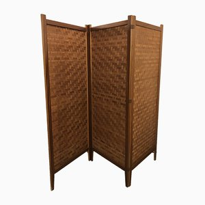 Scandinavian Teak Folding Screen from Handgefertigt, 1960s