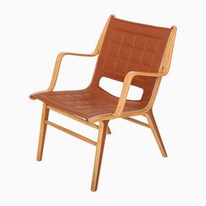 Modell AX 6060 Club Chair von Peter Hvidt & Orla Mølgaard-Nielsen für Fritz Hansen, 1950er Jahre