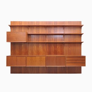 Wall Units by Poul Cadovius for Cado, 1960s, Set of 19