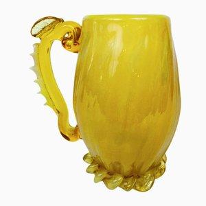 Glass Mug by Jerzy Słuczan-Orkusz, 1970s