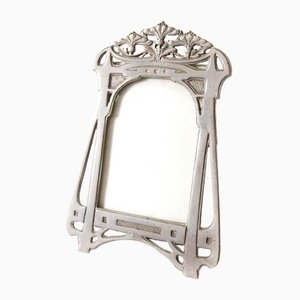 Art Nouveau Tin Photo Frame
