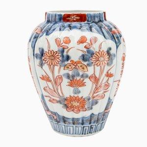 Vase En Porcelaine Imari Japonaise Antique