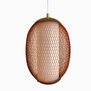 Suspension Lamp from Vereinigte Münchner Werkstätten, 1950s