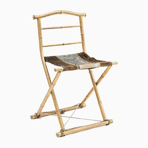 Gilded Folding Chair