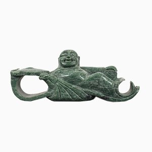 Antique Ruyi Belt Hook in Jade Marble, 1900s