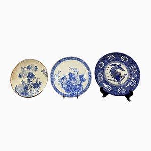 Japanese Porcelain Plates, Set of 3