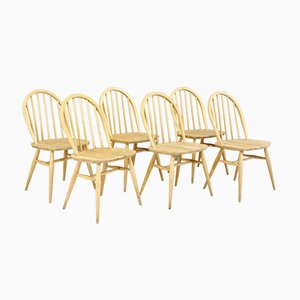 Dining Chairs by Lucian Ercolani for Ercol, 1960s, Set of 6