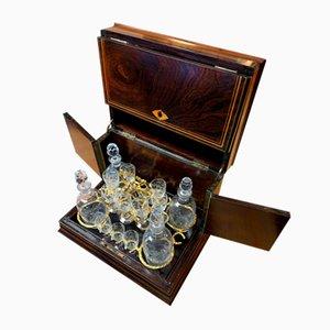 Coffret Bouteille d'alcool, 1810s