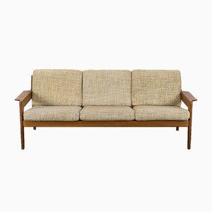 Danish Teak Sofa by Arne Wahl Iversen for Komfort, 1960s