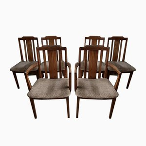 Mid-Century Dining Chairs from G-Plan, Set of 6