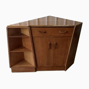 Mid-Century Secretaire and Shelf from G-Plan, Set of 2