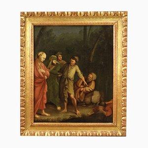 Antikes italienisches Öl auf Leinwand, 18. Jahrhundert