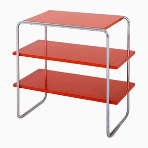 Model B 22 Bookshelf by Marcel Breuer for Gebrüder Thonet Vienna GmbH, 1930s