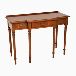 Georgian Style Mahogany Console Table, 1950s