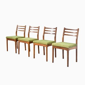 Vintage Teak Dining Chairs from Meredew, 1960s, Set of 4