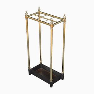 Late Victorian / Edwardian Brass Umbrella Stand