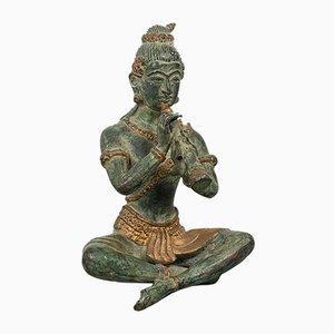 Figure décorative en bronze antique