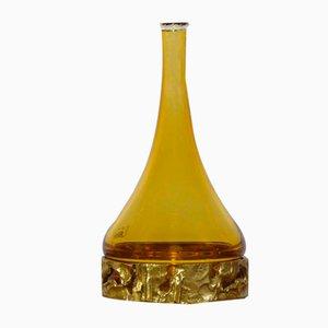 Flaschenvase von Angelo Brotto für Esperia, 1970er Jahre